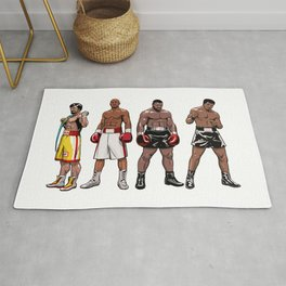 Boxing Champions Rug