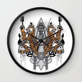 """""""Detroit Nouveau; Coat of Arms"""" Wall Clock"""