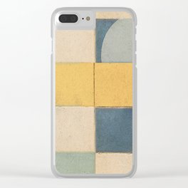 Golden Path Clear iPhone Case