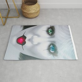Harlequin Eyes Of A Different Color Rug