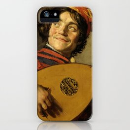 "Frans Hals ""The Lute Player"" iPhone Case"