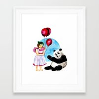 balloons Framed Art Prints featuring Balloons by Anna Shell