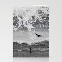 waterfall Stationery Cards featuring WaterFall by Sergio Varanitsa