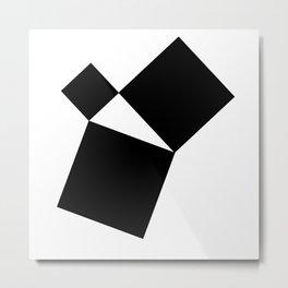 Pythagorean Theorem Metal Print