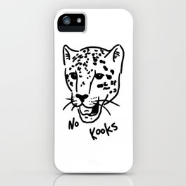 No Kooks iPhone Case