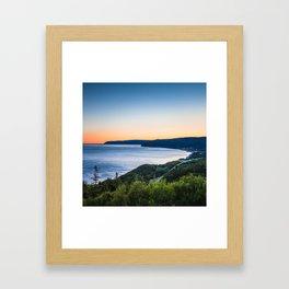 Cabot Trail, Cape Breton.  Nova Scotia, Canada Framed Art Print