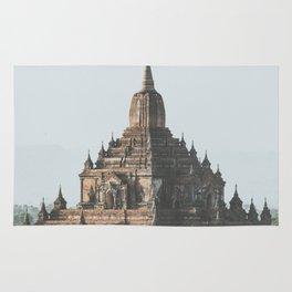 Bagan Temples Rug