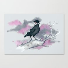 Plague Crow Canvas Print