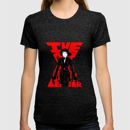 Black widow red T-shirt