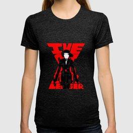 Black widow red T-shirt