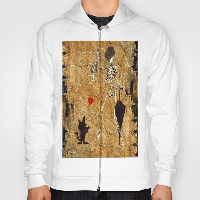 Monsieur Bone loves cat ( work combined by Batkei and Ganech ) Hoody