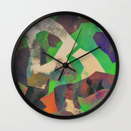 Camouflage LII Wall Clock