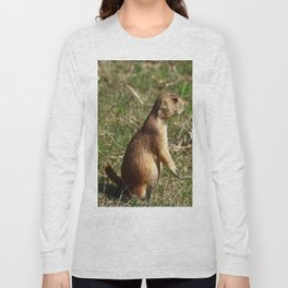 Black-tailed Prairie Dog Pose Long Sleeve T-shirt