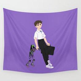 01 Shinji Ikari Wall Tapestry