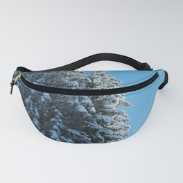 Between the Snow and the Sky Fanny Pack