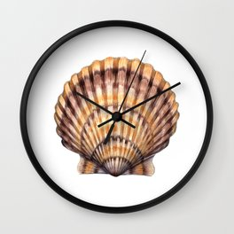 Bay Scallop Wall Clock