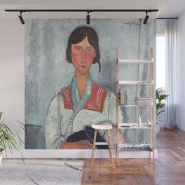 Amedeo Modigliani - Gypsy Woman with Baby Wall Mural