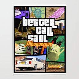 Better Call Saul/GTA mush-up Poster