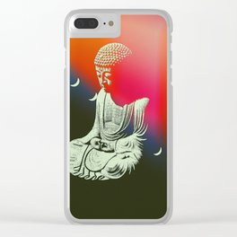 Buddha Moons Clear iPhone Case
