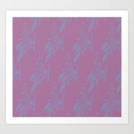 Blurred Flower Art Print
