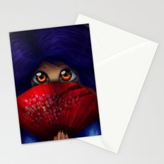 Hiding.  Stationery Cards