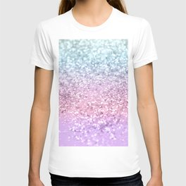 Unicorn Girls Glitter #4 #shiny #pastel #decor #art #society6 T-shirt