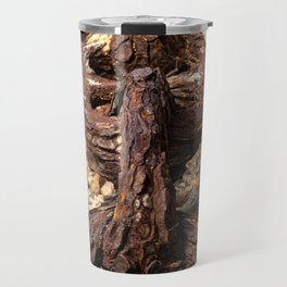 Rusted Weathered Chain Travel Mug