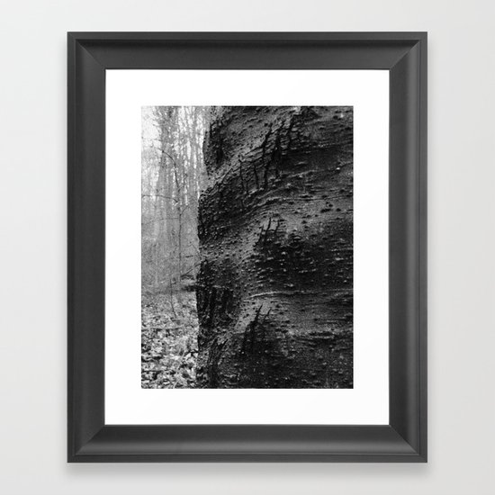 Cracked Framed Art Print