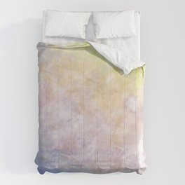 Believe You Are Able (white on colour) Comforters
