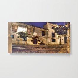 Andalusian Square Metal Print