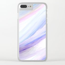 Digital watercolor Clear iPhone Case