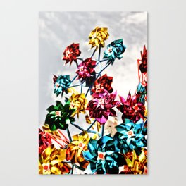 Caught By The Wind Canvas Print