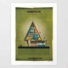 017_ARCHIDIRECTOR_wes anderson Art Print