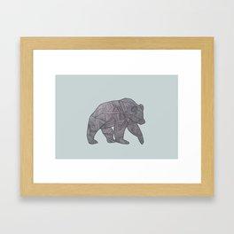 Bear. Framed Art Print