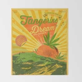 TANGERINE DREAM Throw Blanket