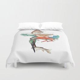 kingfisher Duvet Cover