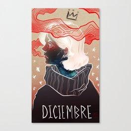 Diciembre Canvas Print