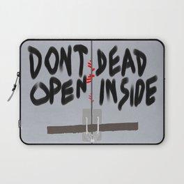Don't Open Dead Inside, Walking Dead  Laptop Sleeve
