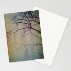 light leaked, tree. Stationery Cards