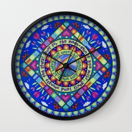 Don't Worry, Be Happy Wall Clock