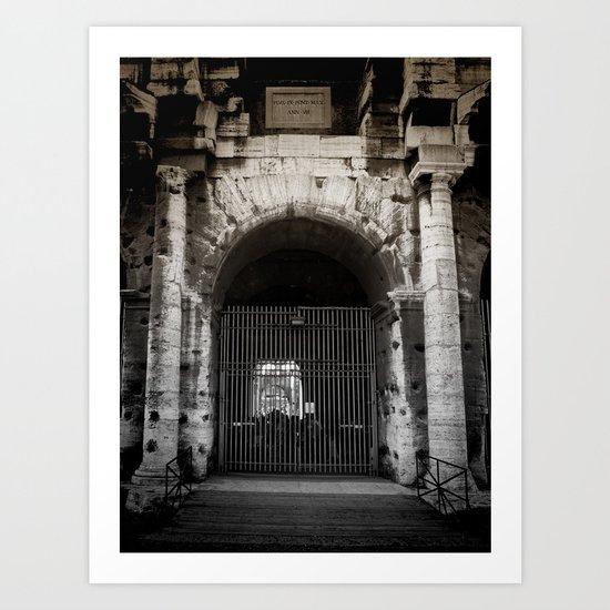 Gates at the Coliseum Art Print