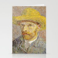 van gogh Stationery Cards featuring Van Gogh by Palazzo Art Gallery