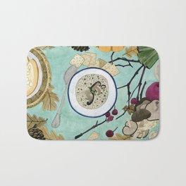 Mushroom Porridge  Bath Mat