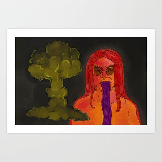 """""""13"""" by Virginia McCarthy Art Print"""
