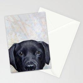 Lablador Dog illustration original painting print Stationery Cards
