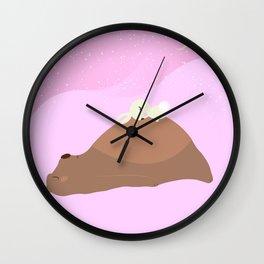 A Break Wall Clock