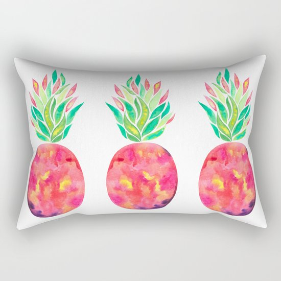 Pineapple Flare Rectangular Pillow