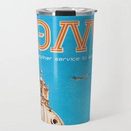 Rome Air Travel Poster Travel Mug