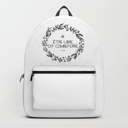 Être Libre, Dit Combeferre Backpack
