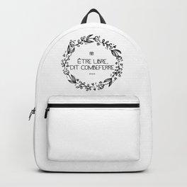 Être Libre, Dit Combeferre Backpack